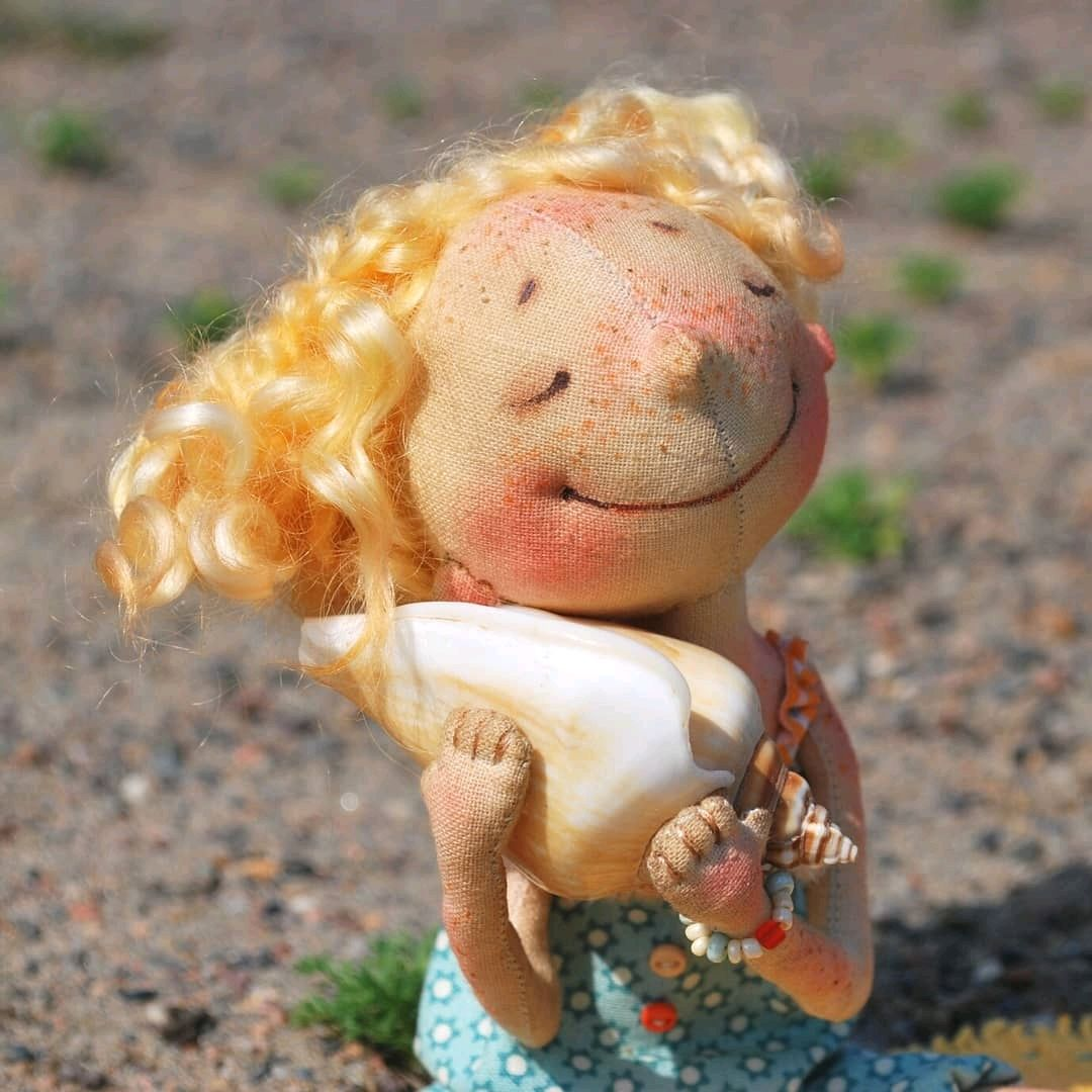 Слышишь море???, Интерьерная кукла, Красноярск,  Фото №1