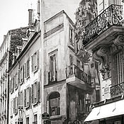 Картины и панно handmade. Livemaster - original item Photo pictures of the city, Paris Black and white pictures