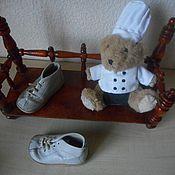 Винтаж ручной работы. Ярмарка Мастеров - ручная работа Ботиночки SALAMANDER (для кукол и др). Handmade.