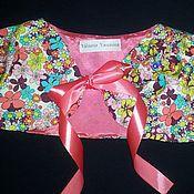 Работы для детей, ручной работы. Ярмарка Мастеров - ручная работа Болеро для юной модницы. Handmade.