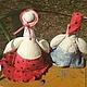 Куклы Тильды ручной работы. Два веселых гуся. Esterat. Интернет-магазин Ярмарка Мастеров. Тильда, игрушка для малыша, птица