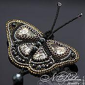 Украшения handmade. Livemaster - original item Brooch butterfly exotic. Handmade.