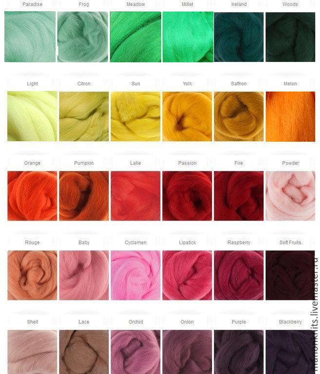 купить толстую пряжу мериноса для вязания
