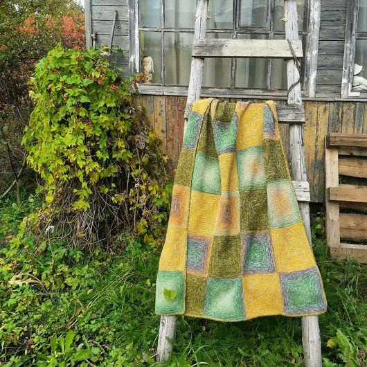 Текстиль, ковры ручной работы. Ярмарка Мастеров - ручная работа. Купить Плед 'Осеннее настроение'. Handmade. Плед, бохо