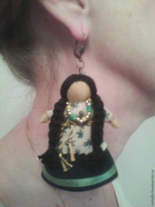 серьга куколка (для примера)