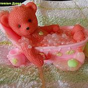 """Мыло ручной работы. Ярмарка Мастеров - ручная работа Мыло """"Мишка в ванной"""". Handmade."""