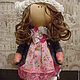 Человечки ручной работы. Ярмарка Мастеров - ручная работа. Купить Интерьерная кукла Танюшка ищет дом. Хороший подарок.. Handmade.