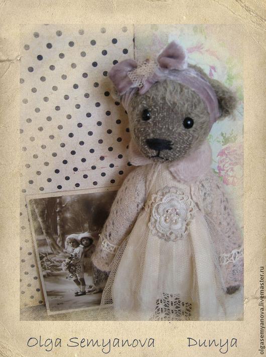 Мишки Тедди ручной работы. Ярмарка Мастеров - ручная работа. Купить Дуня. Handmade. Бледно-розовый, подарок на любой случай