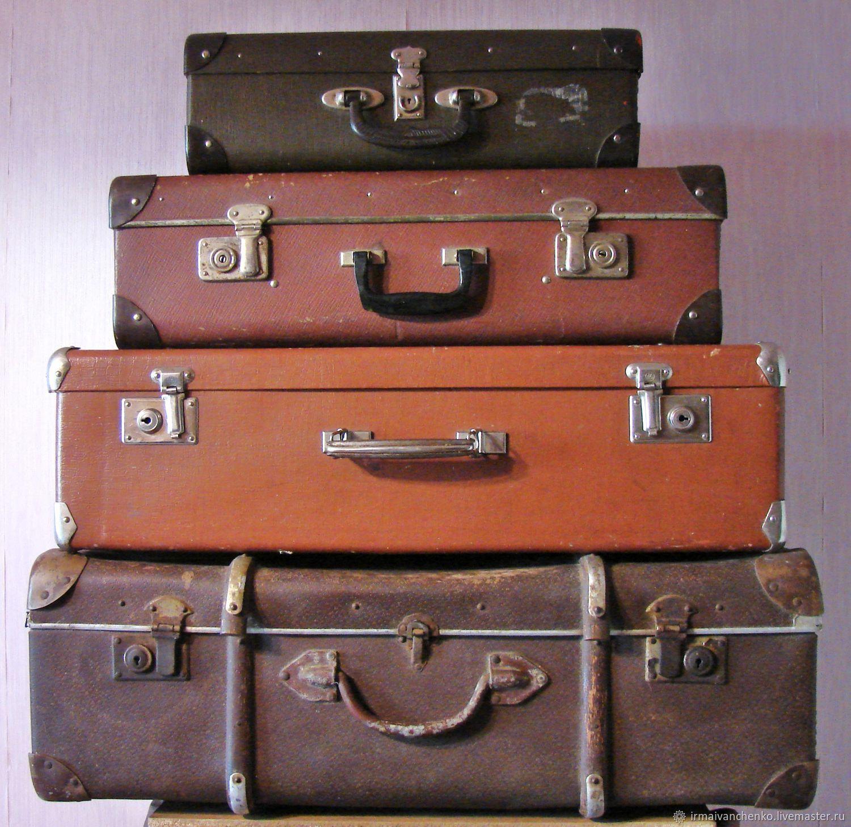 Винтажные чемоданы, Чемодан, Тула,  Фото №1