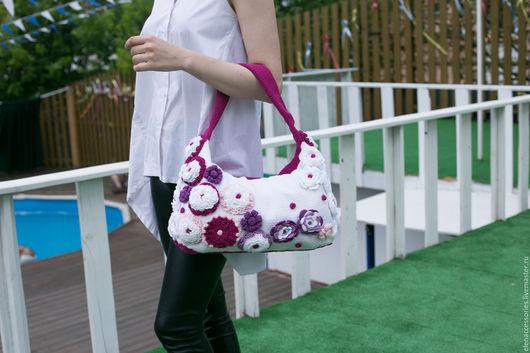 Женские сумки ручной работы. Ярмарка Мастеров - ручная работа. Купить Сумка. Handmade. Комбинированный, сумка ручной работы