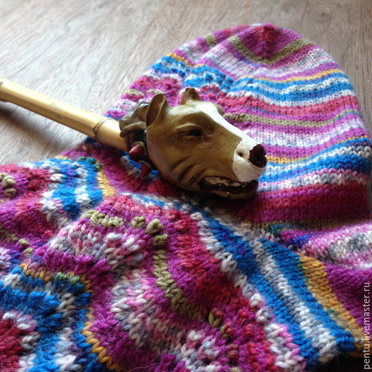Носки, Чулки ручной работы. Ярмарка Мастеров - ручная работа. Купить Носки вязаные Honeyberry. Handmade. Носки, подарок, ягодный
