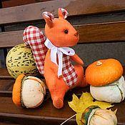Куклы и игрушки ручной работы. Ярмарка Мастеров - ручная работа Белочка. Handmade.