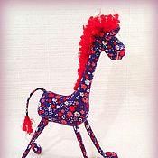 Куклы и игрушки ручной работы. Ярмарка Мастеров - ручная работа Миниатюрный жираф :). Handmade.