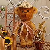 Куклы и игрушки ручной работы. Ярмарка Мастеров - ручная работа Мишка тедди Веснушка. Handmade.