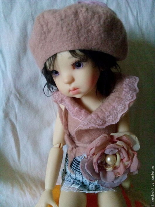 """Одежда для кукол ручной работы. Ярмарка Мастеров - ручная работа. Купить Комплект одежды """"Пепел розы"""" для кукол Kaye Wiggs. Handmade."""