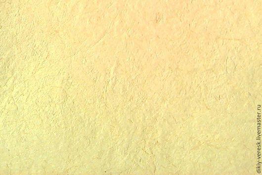 Открытки и скрапбукинг ручной работы. Ярмарка Мастеров - ручная работа. Купить Бумага ручной работы для живописи. Дикие злаки с лимоном.. Handmade.