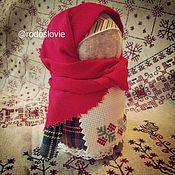 Народная кукла ручной работы. Ярмарка Мастеров - ручная работа Кукла-оберег достатка в доме: Крупеничка (Зерновушка) Рябинка. 11 см. Handmade.