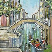 Картины и панно ручной работы. Ярмарка Мастеров - ручная работа Венеция. Handmade.