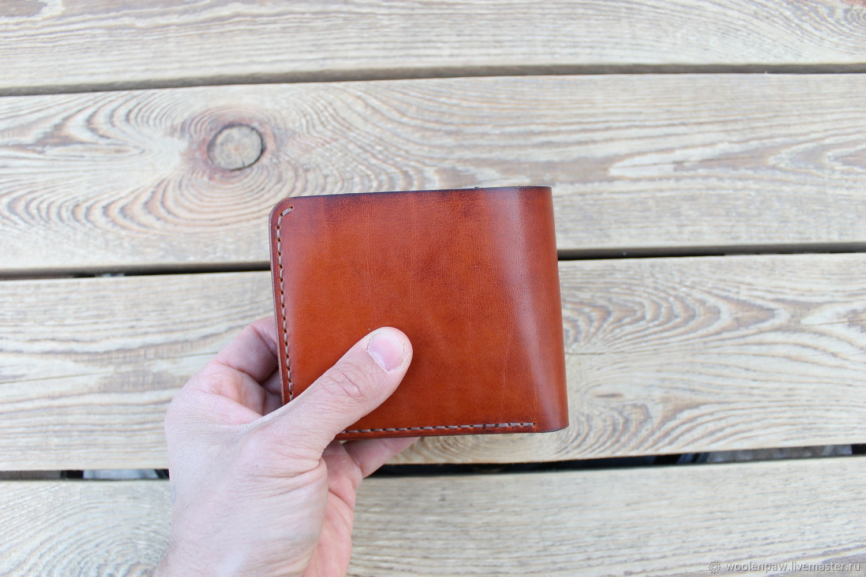 Wallet mens genuine leather, Wallets, Voskresensk,  Фото №1