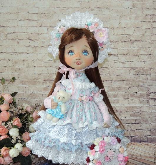 Коллекционные куклы ручной работы. Ярмарка Мастеров - ручная работа. Купить Вивьен. Handmade. Комбинированный, подарок девушке, кожа натуральная