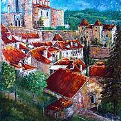 "Картина маслом ""Старая Европа.Франция"""