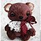 Мишки Тедди ручной работы. Ярмарка Мастеров - ручная работа. Купить Медвежонок - сплюшка. Handmade. Коричневый, вискоза
