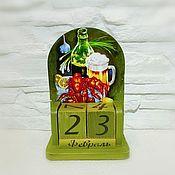 Канцелярские товары handmade. Livemaster - original item Perpetual calendar Saturday night. Handmade.
