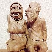 Русский стиль handmade. Livemaster - original item Wooden statue