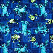Материалы для творчества ручной работы. Ярмарка Мастеров - ручная работа №985 американский хлопок Корпорация монстров. Handmade.