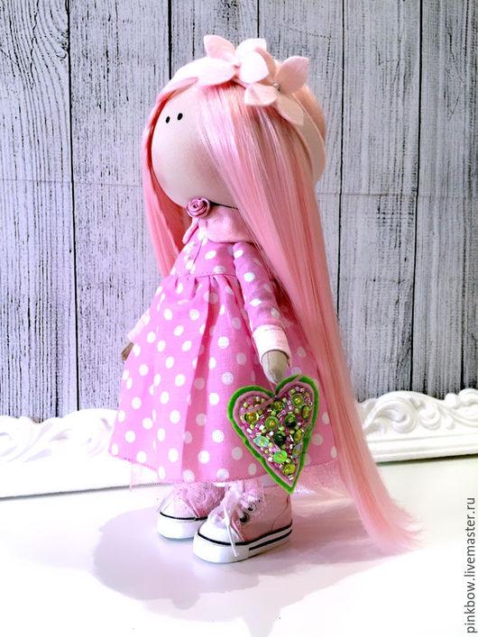 Куклы тыквоголовки ручной работы. Ярмарка Мастеров - ручная работа. Купить Куколка, рост 25см. Handmade. Комбинированный, кукла текстильная