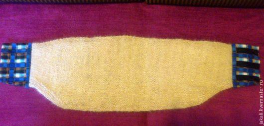 Пояса, ремни ручной работы. Ярмарка Мастеров - ручная работа. Купить Пояс из собачьей шерсти. Handmade. Белый, пух собачий