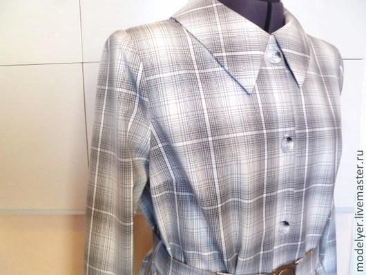 Пиджаки, жакеты ручной работы. Ярмарка Мастеров - ручная работа. Купить Жакет 48,  50 клетка  костюмна ткань итальянская. Handmade.