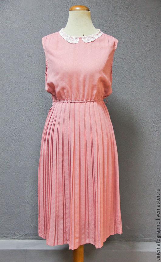 Одежда. Ярмарка Мастеров - ручная работа. Купить Платье JAPAN 50-е винтаж токио. Handmade. Кремовый, винтаж, воротничок
