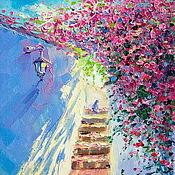 Картины и панно handmade. Livemaster - original item Oil painting on canvas. Fragrant shadows of Italy. Handmade.