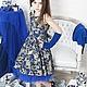 """Одежда для девочек, ручной работы. Платье пышное для девочки """"Королевское золото"""". Yansons Domik (yansonsdomik). Ярмарка Мастеров. Платье нарядное"""