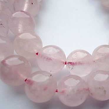 Материалы для творчества ручной работы. Ярмарка Мастеров - ручная работа Розовый кварц мадагаскарский бусина шар 8мм. Handmade.