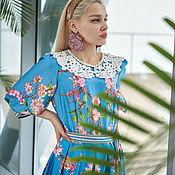 """Одежда handmade. Livemaster - original item Авторское платье """"Цвет миндаля"""". Handmade."""