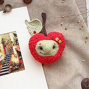 Куклы и игрушки ручной работы. Ярмарка Мастеров - ручная работа Сердце - Toy heart - красное сердце - Сердце яблоко. Handmade.