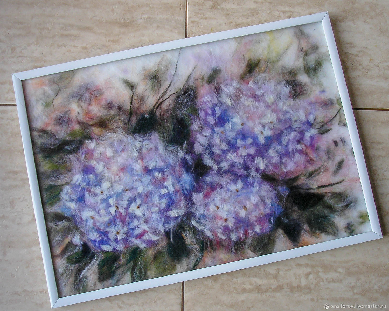 Picture of hydrangea wool, Pictures, Engels,  Фото №1