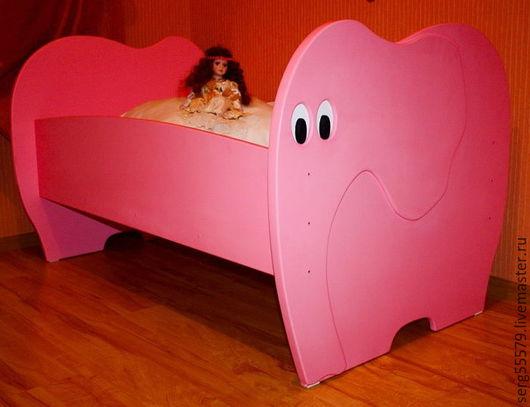 """Детская ручной работы. Ярмарка Мастеров - ручная работа. Купить Кровать """"Слоник"""". Handmade. Комбинированный, детская мебель, мебель для детской"""