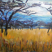 Картины и панно handmade. Livemaster - original item Picture. Memories of South Africa. Acacia. Handmade.