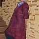 """Платья ручной работы. Платье """"Shato"""" ( nuno) продано. Korotkova   Natalya. Интернет-магазин Ярмарка Мастеров. Однотонный"""