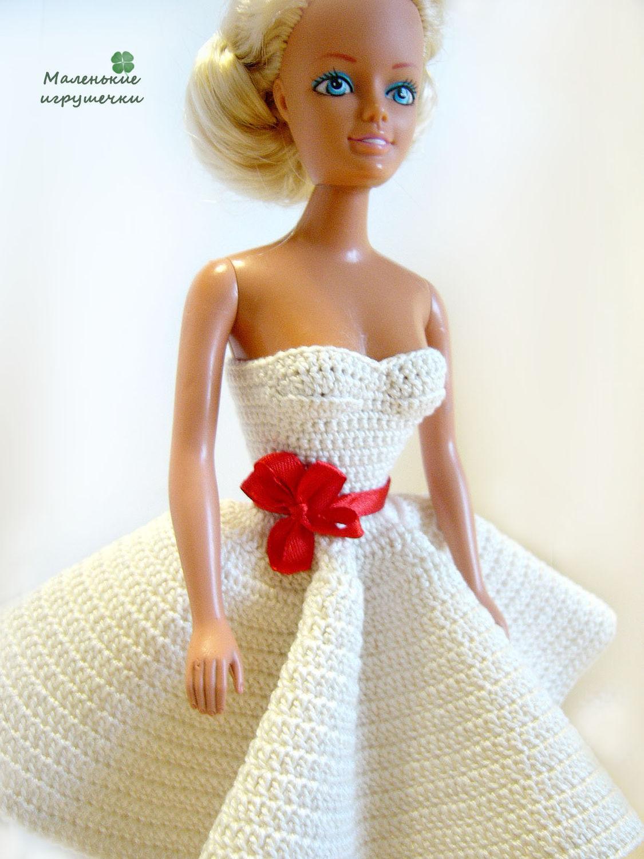 Пять нарядных платьев для Барби, шьём своими руками 56