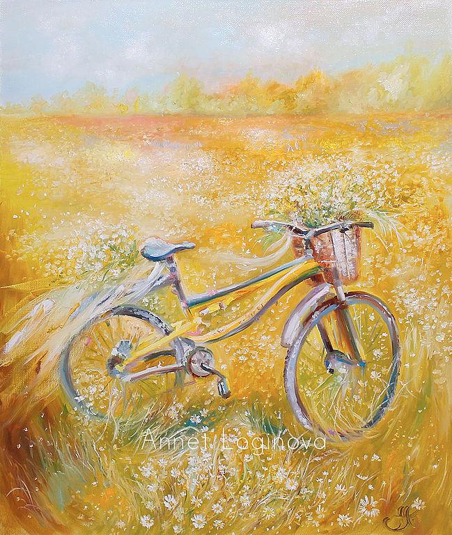 Sun bicycle, Картины, Москва, Фото №1