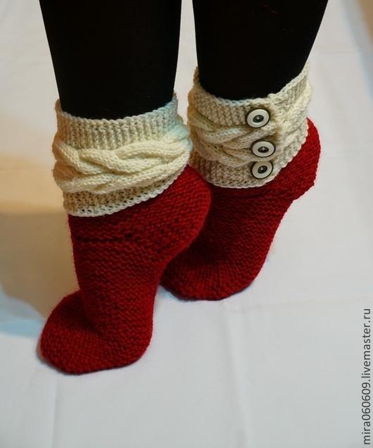 Носки, Чулки ручной работы. Ярмарка Мастеров - ручная работа. Купить Носки женские, вязаные носки, носки спицами. Handmade.