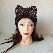 Аксессуары handmade. Livemaster - original item Knitted powassan head