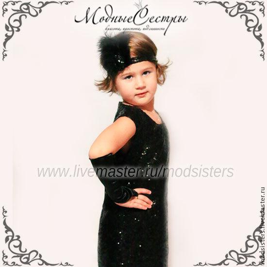 Baby dress 'Cabaret' Art.180, Childrens Dress, Nizhny Novgorod,  Фото №1