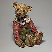 Куклы и игрушки ручной работы. Ярмарка Мастеров - ручная работа Мишка Тедди Сереженька. Handmade.