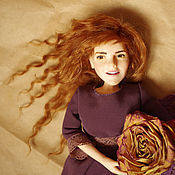 Куклы и игрушки ручной работы. Ярмарка Мастеров - ручная работа Коллекционная кукла, подвижная. Handmade.