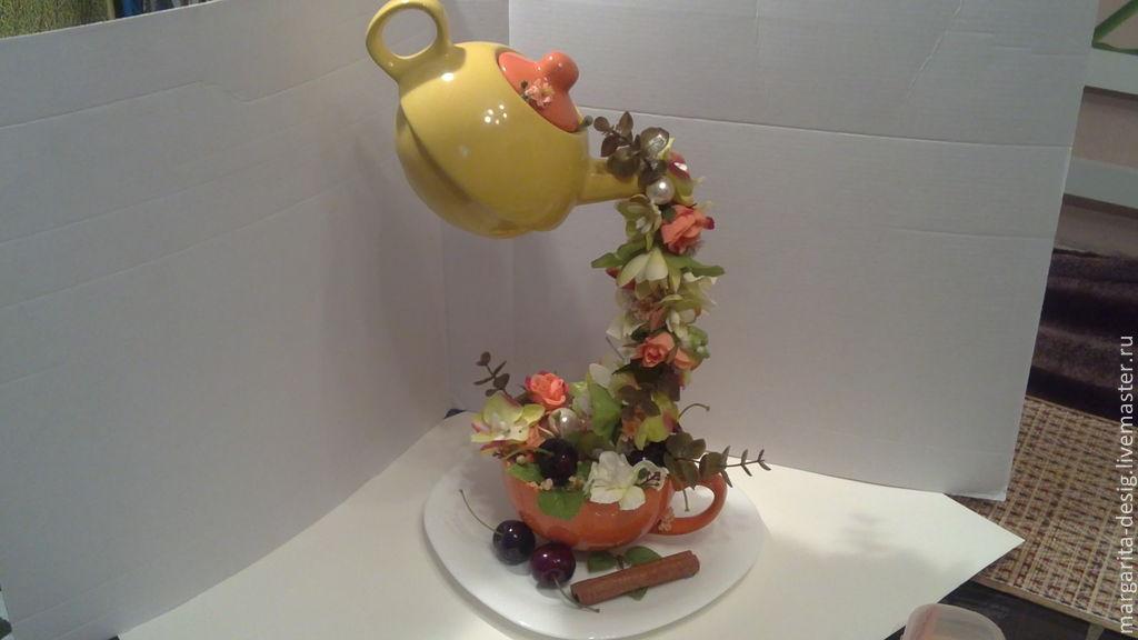 Чайник наливайник сладкая Черешня автор Веденеева Маргарита